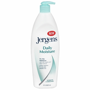 Jergens Daily Moisture Dry Skin Moisturizer with Silk Proteins and Citrus Extracts