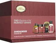 The Art of Shaving Full-Size Kit in Sandalwood