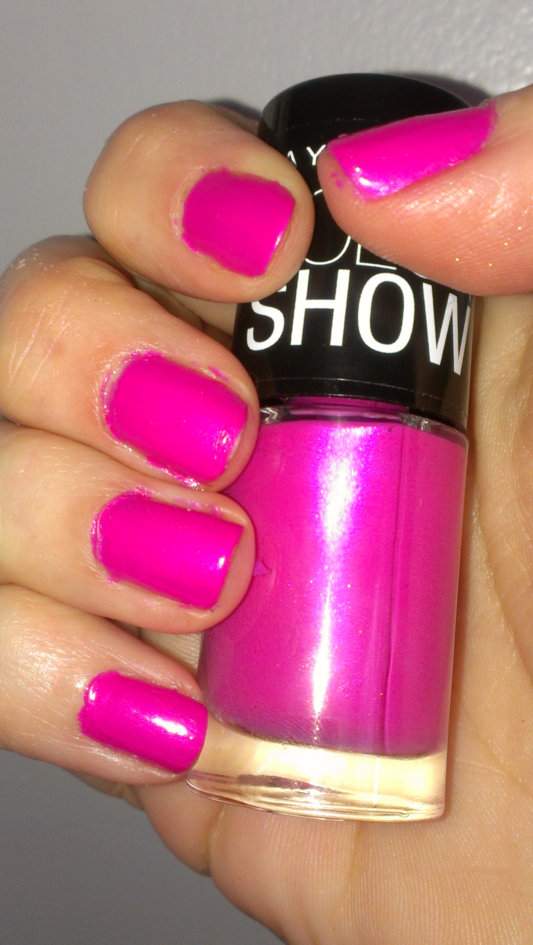 Maybelline Color Show Pink Shock