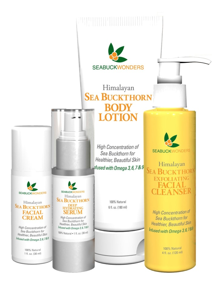 Sea Buckthorn Natural Skin Care Program
