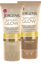 Jergens Natural Glow + Protect Daily Moisturizer Sunscreen