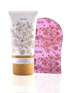 tarte Brazilliance™ skin rejuvenating maracuja face and body self tanner with mitt