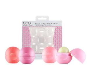eos' new Basket of Fruit Smooth Sphere Lip Balm Pack