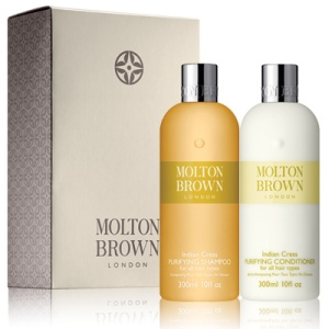 Molton Brown Indian Cress Shampoo and Conditioner