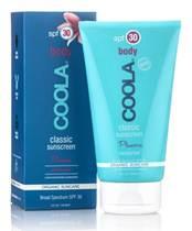 COOLA's Classic Body SPF 30 Plumeria Moisturizer