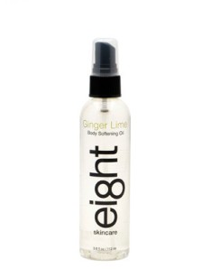 Eight Skincare Body Softening Oil Ginger Lime