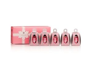 Perfect Formula Pink Gel Coat 5 Mini Ornaments