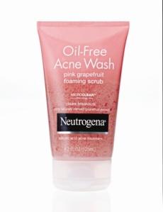 NEUTROGENA® Oil-Free Acne Wash Pink Grapefruit