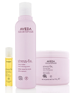 Aveda's stress-fix™ Home Spa Experience