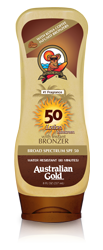 Australian Gold Lotion with Kona Bronzers - SPF 50