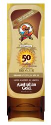 Australian Gold Lotion with Kona Bronzers - SPF 50