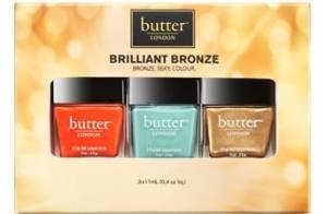 butter LONDON Brilliant Bronze Collection