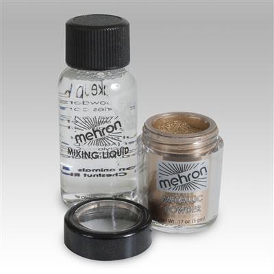 Meyron Metallic Powder with Mixing Liquid