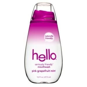 Hello Mouthwash Pink Grapefruit Mint