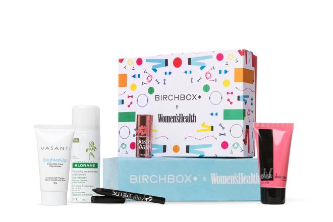 Sample Birchbox + Women's Health Box