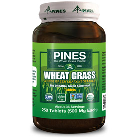 Pines Wheat Grass 250 Tablets