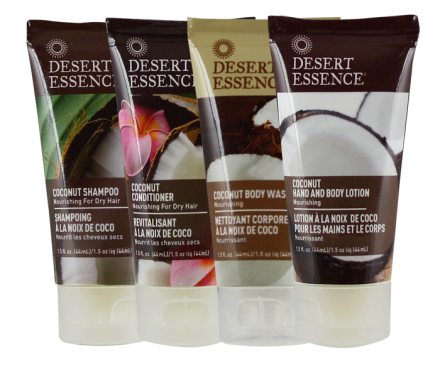 Desert Essence Coconut Travel Kit