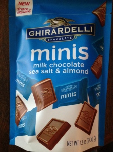 Ghiradelli Milk Chocolate  Sea Salt & Almond Minis