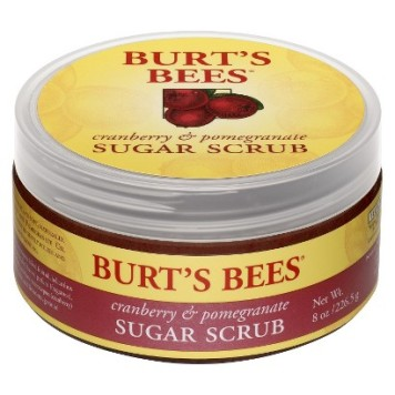 Burt's Bees Cranberry and Pomegranate Sugar Scrub
