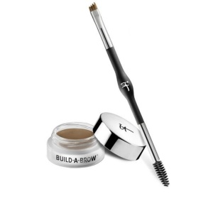 It Cosmetics Build-A-Brow Waterproof 5-in-1 Micro-Fiber Crème Gel Stain