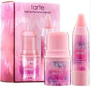 tarte positive energy deluxe energy lip and cheek set