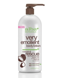 Alba Botanica Very Emollient Body Lotion Coconut Rescue