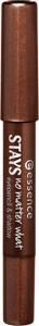 essence STAYS no matter what eye pencil and shadow in chocolate brownie