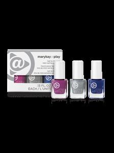 Mary Kay At Play® Hail to the Nails Mini Nail Lacquer Trio