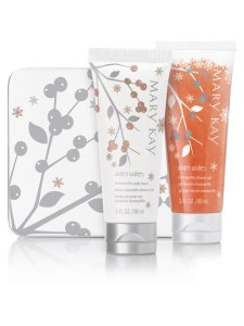 Mary Kay Winter Wishes Shimmeriffic Shower Gel and Shimmeriffic Body Lotion Gift Set