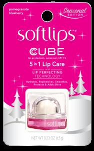 Softlips Cube Pomegranate Blueberry