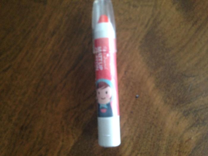 Shara Shara Petit Friend Matte Lip Crayon in Neon Orange