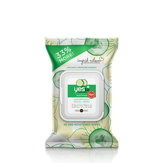 Ingrid Nilsen x Yes to Cucumbers Facial Wipes - 40ct