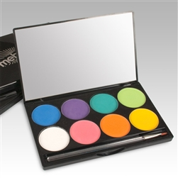Mehron Beauty INtense PRO Pressed Pigments in Fire