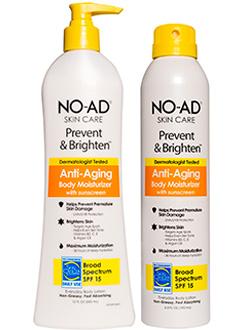 NO-AD Skin Care Prevent and Brighten