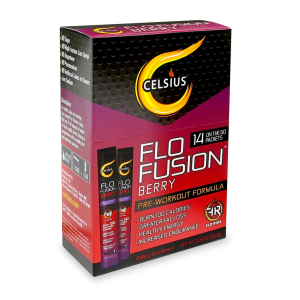 Celsius Flo Fusion On-the-Go in Berry