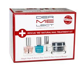 Dermelect Cosmeceuticals Rescue 'ME' Natural Nail Treatment Kit
