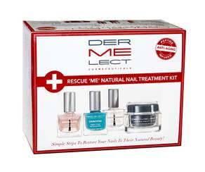 Dermelect Cosmeceuticals Rescue 'ME' Natural Nail Treatment Kit