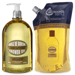 L'Occitane Almond Shower Refill Duo