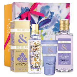 L'Occitane Iris Bleu & Iris Blanc Collection