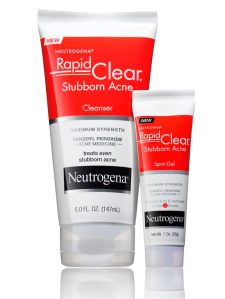 NEUTROGENA Rapid Clear Stubborn Acne collection