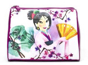 LONDON SOHO NEW YORK Disney Mulan Cosmetic Bag