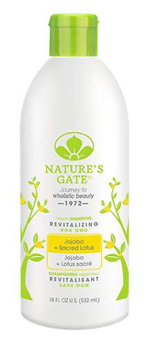 Nature's Gate Jojoba + Sacred Lotus Revitalizing Shampoo