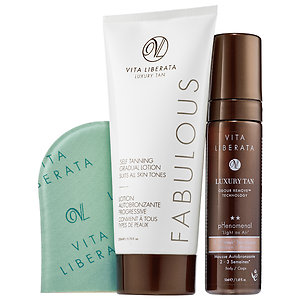 Vita Liberata pHenomenal Mousse and Fabulous Self Tanning Gradual Lotion Set