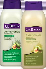 La Bella Anti-Sponge Shampoo and Conditioner