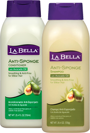 La Bella Anti-Sponge Shampoo and Conditioner