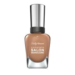 Complete Salon Manicure in Beige Glass