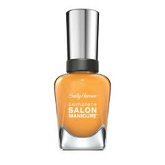 Complete Salon Manicure in Gold Glass