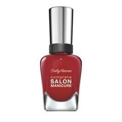 Complete Salon Manicure in Maasai Red