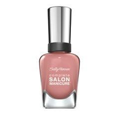 Complete Salon Manicure in Rose Glass