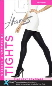 Hanes High Waist Blackout XTemp